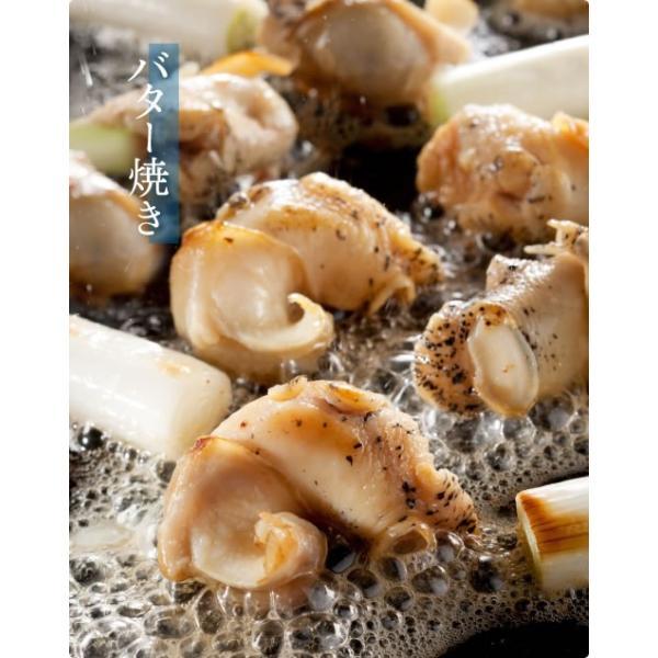 お歳暮 ギフト つぶ貝 名物商品 煮る焼く炒める&刺身、食べればハマる♪ ツブ貝むき身ボイル1kg(Lサイズ)  IQF個別冷凍 冷凍便 送料無料|masuyone|07