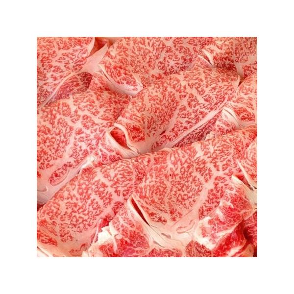 送料無料 すき焼 最上級A5A4等級 国産黒毛和牛メガ盛肩ロースすき焼スライス1kg クラシタロース 福島牛 ギフト 贈答用 牛肉 和牛|matador|03