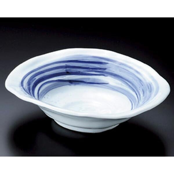 陶雅  大鉢・盛鉢(正角・丸)青の空うず巻盛鉢|matakatsu