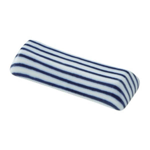 美濃の和食器 花伝細縞 青 京枕箸置き|matakatsu