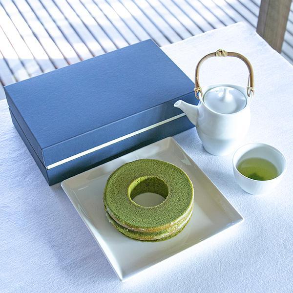 抹茶バウムクーヘンとお茶の詰合せ 抹茶スイーツ ギフト お取り寄せ|matcha|02