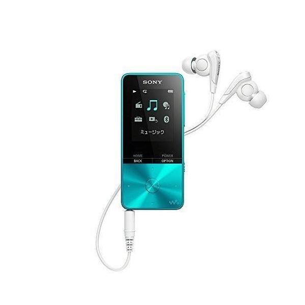 ソニー SONY ウォークマン Sシリーズ 4GB NW-S313 : Bluetooth対応 最大52時間連続再生 イヤホン付属 2017年モデル ブルー NW-S313 L materialbeats 02