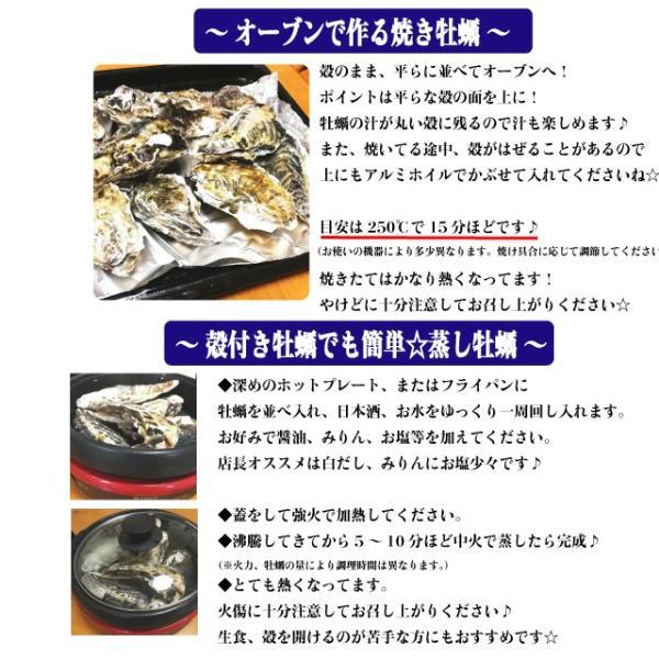 殻付き牡蠣 産地直送 宮城県産 5kg 生食用 送料無料 旬 活 かき 生ガキ|matsu-kaki|10