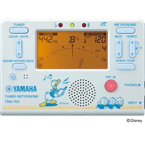 YAMAHA  ヤマハ チューナーメトロノーム  TDM-700DD2 ドナルドダック【数量限定販売】
