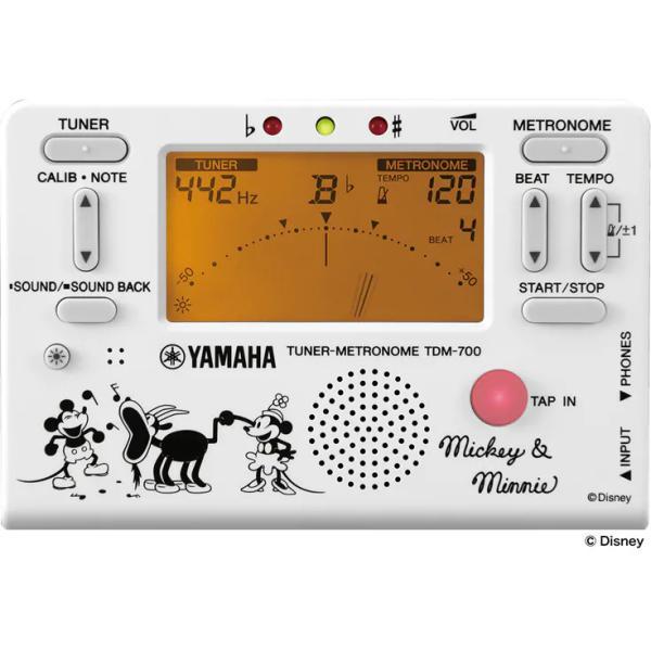 YAMAHA  ヤマハ チューナーメトロノーム  TDM-700DMN5 蒸気船ウィリー【数量限定販売】