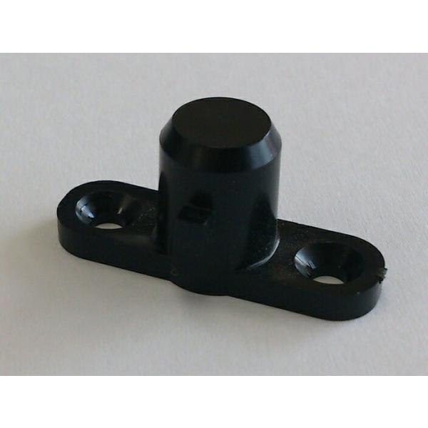 アシストスツール用ダボ単品交換部品黒色*クリックポスト(日本郵便)でお送りします。