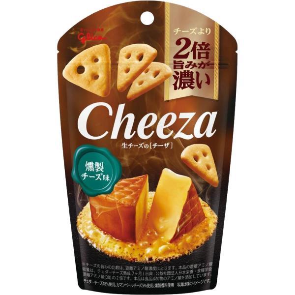 江崎グリコ 生チーズのチーザ<燻製チーズ味> 40g