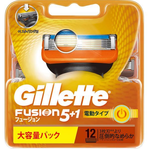 P&Gジャパン ジレット フュージョン5+1パワー 替刃12個