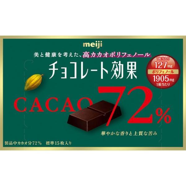 明治 チョコレート効果 カカオ72%