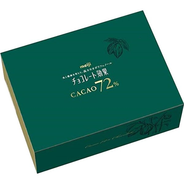 明治チョコレート効果カカオ72%ネット 大容量BOX1000g