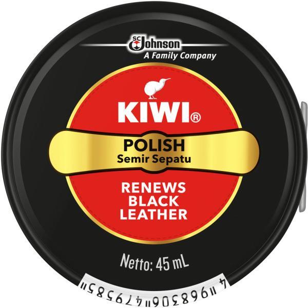 ジョンソン KIWI 油性靴クリーム 黒 45ml