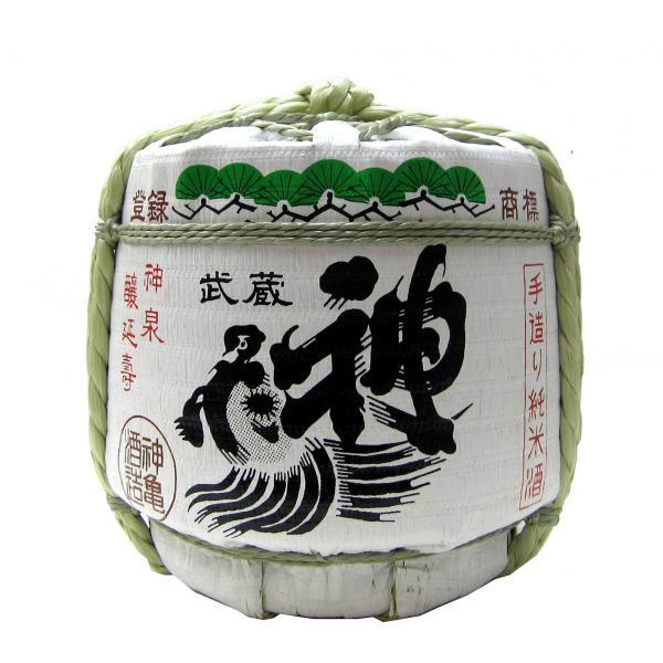 神亀 菰樽(辛口純米酒)化粧箱入り 1800ml(1本) | 長期熟成酒・熟成古酒