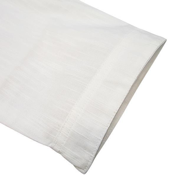 義若の綿紬(白)超肥満サイズ(4L)大人ダボシャツ 男女兼用 義若オリジナル|matsuriya-sonami|02