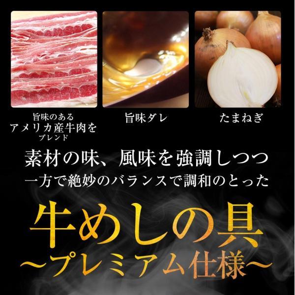 松屋 牛めしの具(プレミアム仕様) 20個 牛丼の具 牛肉 冷凍  matsuyafoods 14