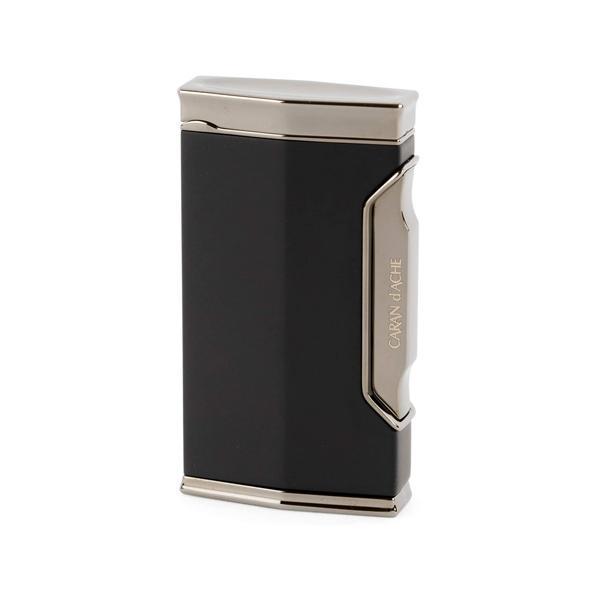 カランダッシュ ガスライター CD01-1101 バーナーフレーム 黒ニッケル/マットブラック CARAN d'ACHE 在庫限り