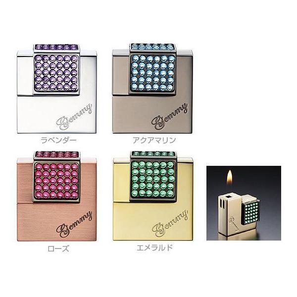 ウインドミル 電子ライター ラインストーンを使った美しいデザイン ジェミー GEMMY 在庫限り