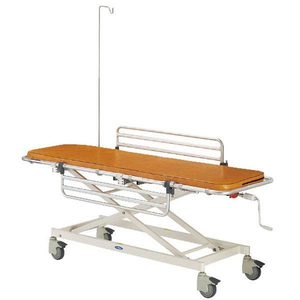 ストレッチャー用酸素ボンベ受け金具 TY208-1(MRIシツヨウ) 1個 日進医療器 21-7100-01