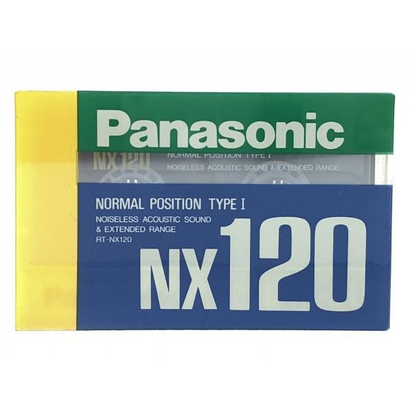 パナソニック Panasonic カセットテープ  NX120分 ノーマルポジション RT-NX120 旧世代|matt811