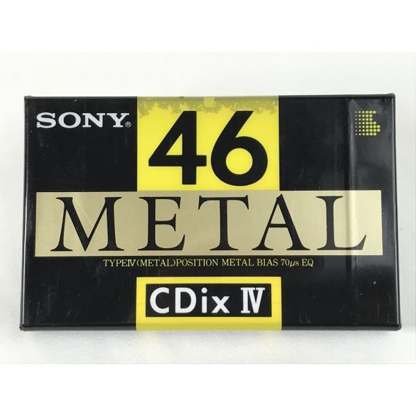 ソニー SONY メタル カセットテープ  CdixIV METAL 46分  入手困難 matt811