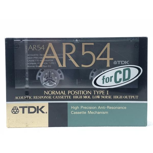 TDK カセットテープ AR 54分 ノーマルポジション AR-54K 旧世代|matt811