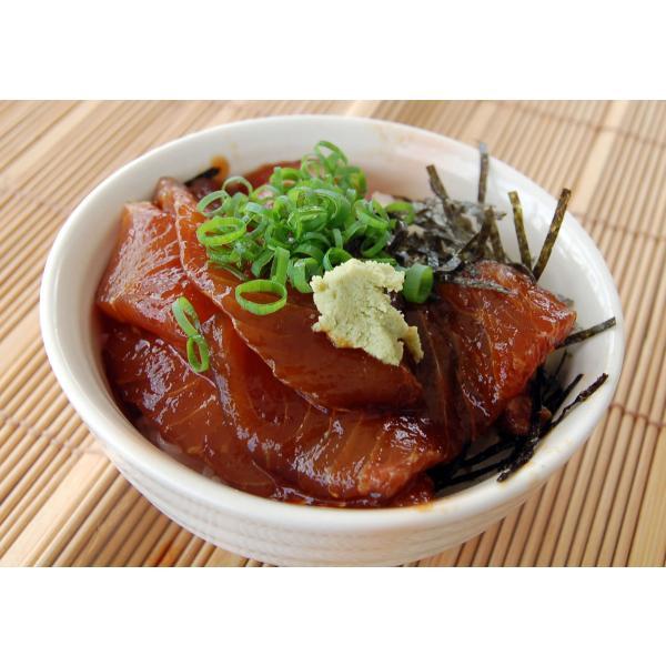 手間いらずで美味い さかな屋自家製 中トロ混じり本マグロ(ヨコワ)の漬け丼 (冷凍)1食 国産(山陰産)脂がのった寒ヨコワ使用