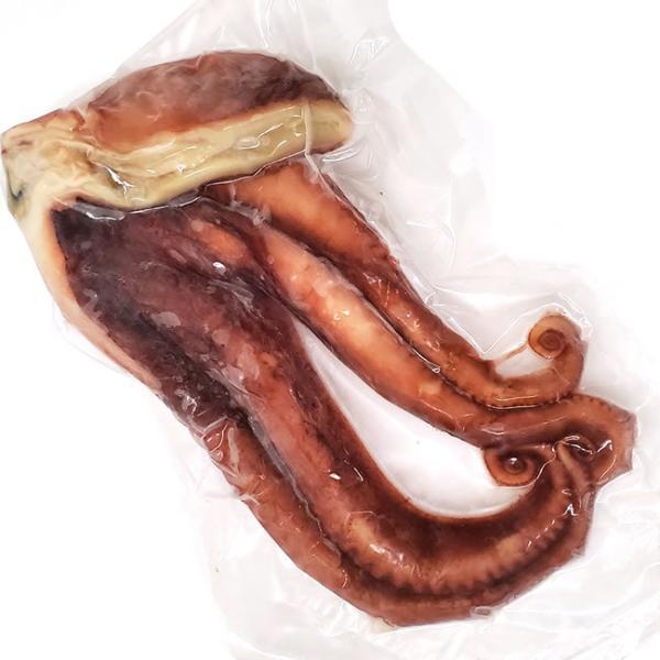 茹で水たこハーフカット(冷凍)約600-650g(茹でた後の重さ)(浜坂産)(蛸・タコ・ボイル済・茹でだこ)