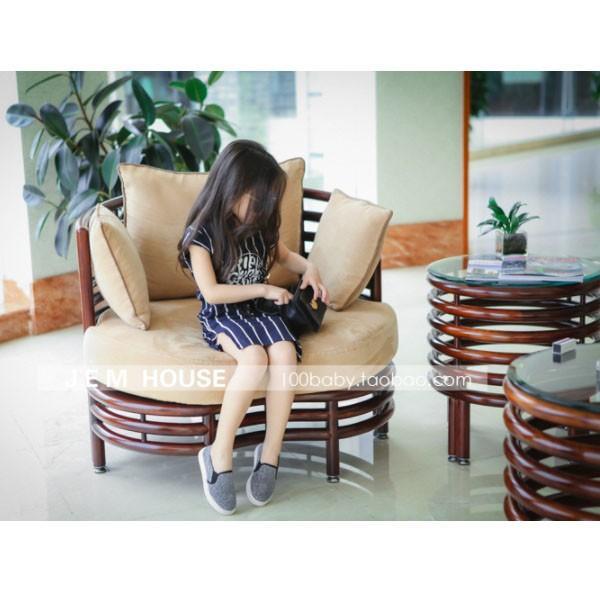 ベビー キッズ 子供服 女の子 セットアップ スカート ストライプTシャツ&タイトスカートセット mavelous 05