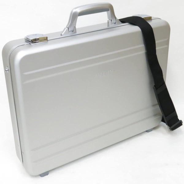 ショルダータイプ アルミアタッシュケース48cm ハードアタッシュケース アルミ BROMPTON#21198