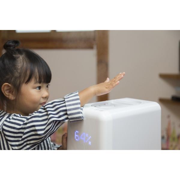 加湿器 アロマ ハイブリッド式 アロマディフューザー 卓上 おしゃれ 小型 オフィス ミニ加湿器 大容量6L 上から給水 送料無料|maxlex|04
