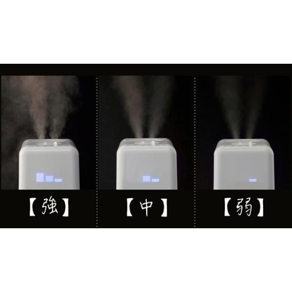 加湿器 アロマ ハイブリッド式 アロマディフューザー 卓上 おしゃれ 小型 オフィス ミニ加湿器 大容量6L 上から給水 送料無料|maxlex|05