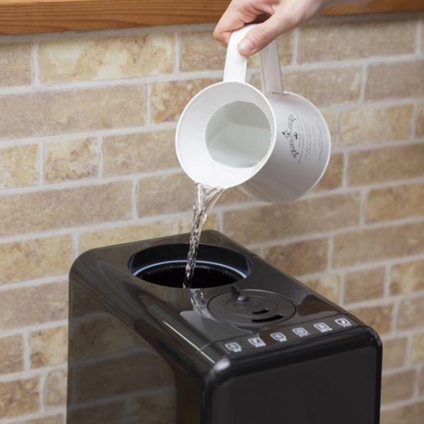 加湿器 アロマ ハイブリッド式 アロマディフューザー 卓上 おしゃれ 小型 オフィス ミニ加湿器 大容量6L 上から給水 送料無料|maxlex|07