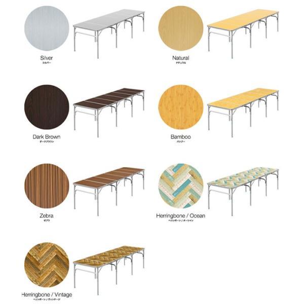 テーブル 折りたたみ アウトドア 折りたたみテーブル 六つ折り 収納式 アウトドアテーブル レジャーテーブル アルミ 製 高さ 調整 調節 送料無料|maxshare|02