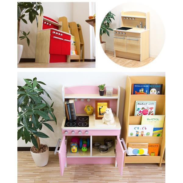 ままごと キッチン 木製 おままごと おもちゃ 知育玩具 ごっこ 遊び ままごとセット 誕生日 お祝い プレゼント 子ども 子供 女の子 贈り物 RiZKiZ 送料無料 maxshare 06