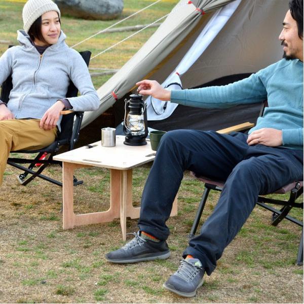 アウトドアテーブル レジャーテーブル コンパクト Mサイズ 幅 60cm 組み立て ミニ 木製 レジャー テーブル アウトドア キャンプ FIELDOOR フィールドア 送料無料|maxshare|14