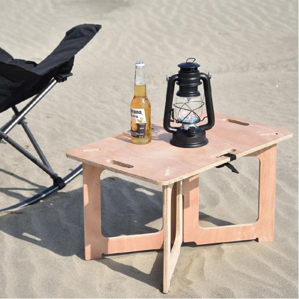 アウトドアテーブル レジャーテーブル コンパクト Mサイズ 幅 60cm 組み立て ミニ 木製 レジャー テーブル アウトドア キャンプ FIELDOOR フィールドア 送料無料|maxshare|15