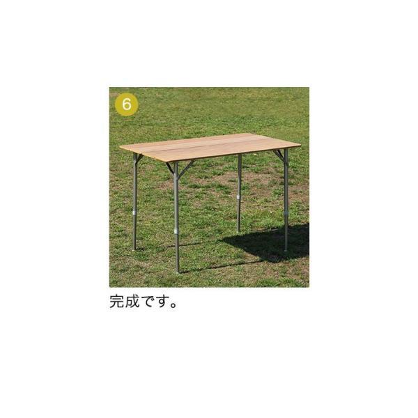 テーブル 高さ調節 可能 幅100cm 折りたたみ 在宅勤務 テレワーク アウトドア レジャー ピクニック ローテーブル キャンプ デスク バンブー FIELDOOR 送料無料|maxshare|16