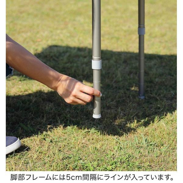テーブル 高さ調節 可能 幅100cm 折りたたみ 在宅勤務 テレワーク アウトドア レジャー ピクニック ローテーブル キャンプ デスク バンブー FIELDOOR 送料無料|maxshare|08