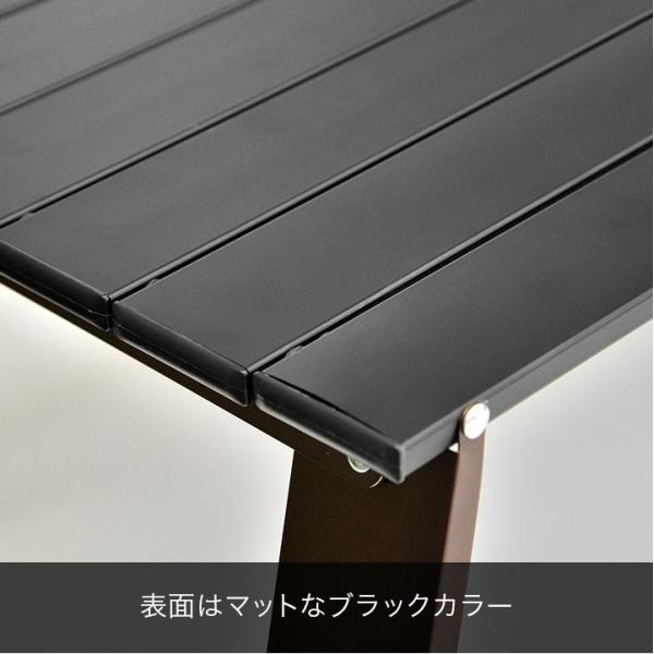アウトドアテーブル 折りたたみ アルミ レジャーテーブル コンパクト テーブル 幅 60cm Lサイズ アルミ製 軽量 アウトドア キャンプ 折り畳み FIELDOOR 送料無料 maxshare 10