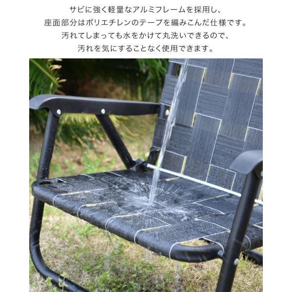 アウトドアチェア ローチェア 丸洗い 汚れに強い 折りたたみ おしゃれ ベルトチェア アルミ 軽量 キャンプ 椅子 コンパクト ポータブルチェア FIELDOOR 送料無料|maxshare|07