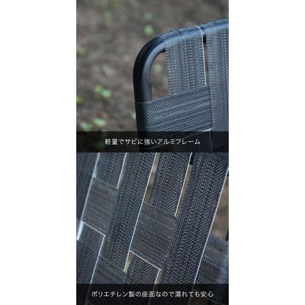 アウトドアチェア ローチェア 丸洗い 汚れに強い 折りたたみ おしゃれ ベルトチェア アルミ 軽量 キャンプ 椅子 コンパクト ポータブルチェア FIELDOOR 送料無料|maxshare|09