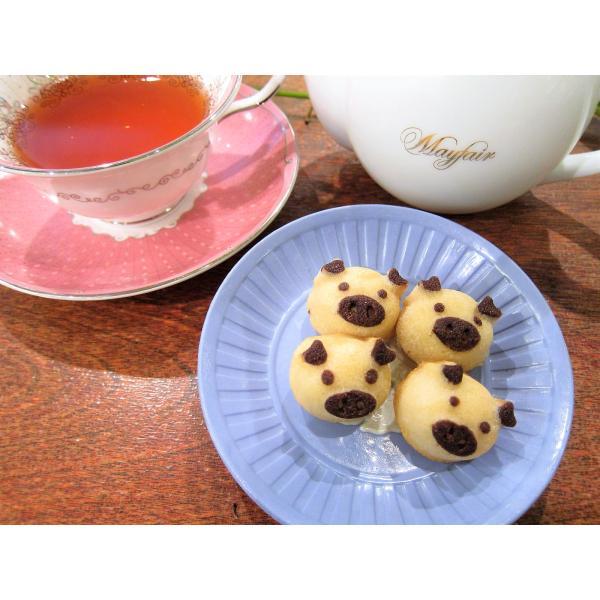 【幸せの白ぶたさん】(4個入り)無添加の厳選素材を使った、上質でリッチなフィナンシェのかわいいお菓子。豚は縁起が良いのでプレゼントにも最適|mayfair-net