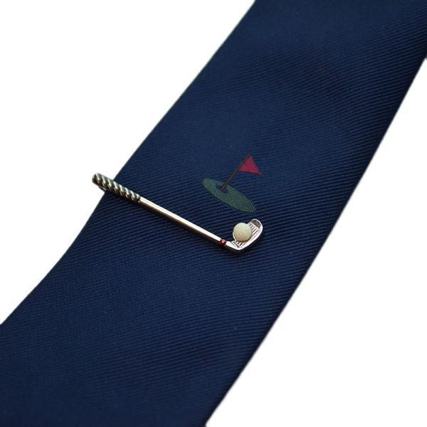 バレンタイン 本命ギフト ギフト プレゼント SWANK タイピン&ネクタイセット06(ゴルフ)|mays-jewelry