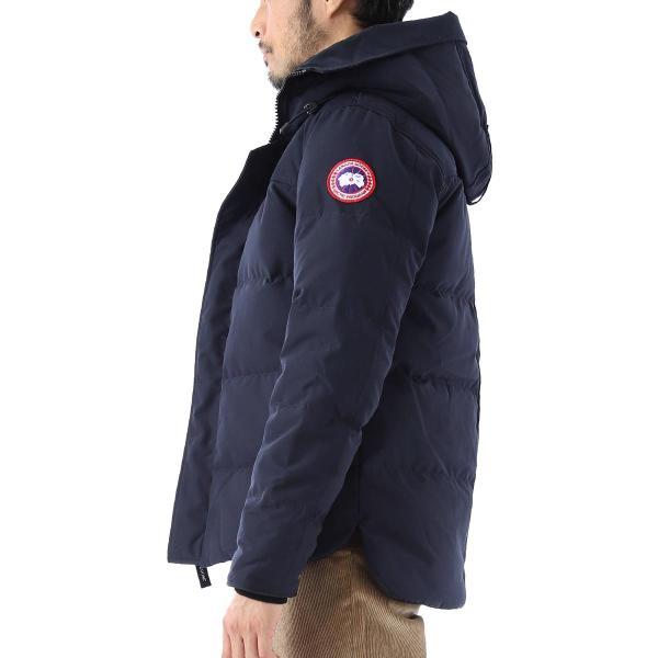 カナダグース CANADA GOOSE ダウンジャケット MACMILLAN PARKA ブラック メンズ 3804m-61|mb-y|03