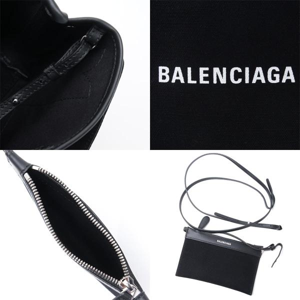 バレンシアガ BALENCIAGA トートバッグ 2WAY NAVY CABAS XS ネイビー カバ ブラック レディース 390346-aq38n-1000