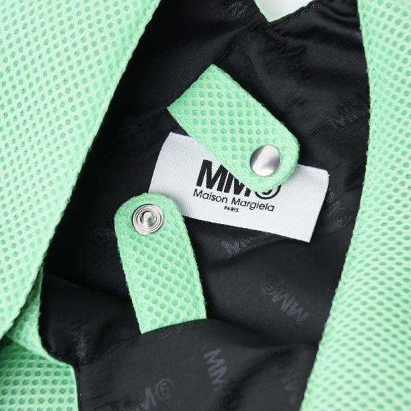 エムエム 6 メゾンマルジェラ MM6 Maison Margiela トートバッグ ジャパニーズ グリーン レディース s41wd0034-pr992-h3289|mb-y|07
