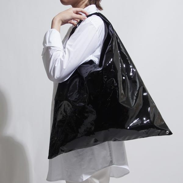 エムエム 6 メゾンマルジェラ MM6 Maison Margiela トートバッグ ジャパニーズ ブラック レディース s54wd0039-p0046-t8013