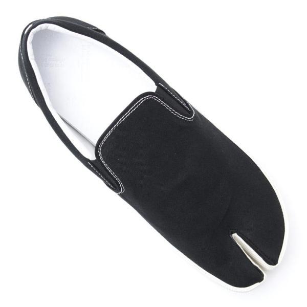 メゾンマルジェラ Maison Margiela スリッポン シューズ 22 女性と男性のための靴のコレクション TABI タビ スニーカー ブラック 大きいサイズあり メンズ|mb-y|08