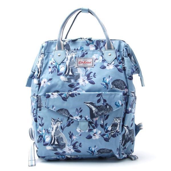 キャスキッドソン Cath Kidston バックパック 2WAY Badgers and Friends ブルー レディース 788854-badgers-f-grey-blue
