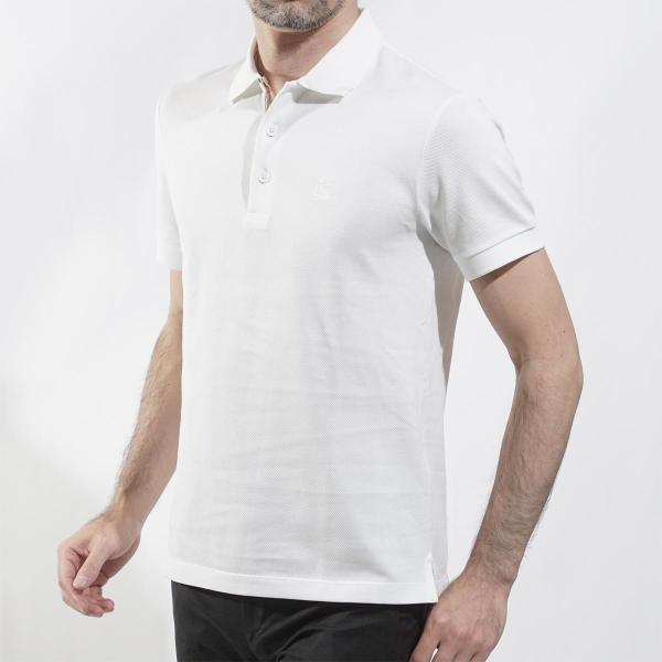 バーバリー BURBERRY ポロシャツ ホワイト メンズ 8000919-white|mb-y