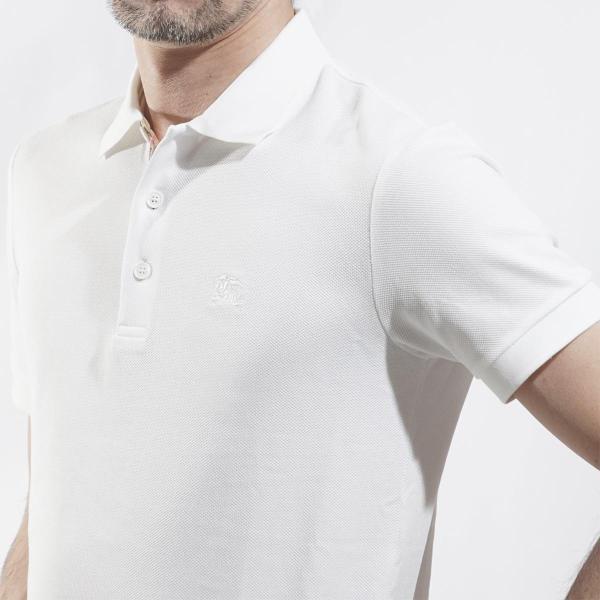 バーバリー BURBERRY ポロシャツ ホワイト メンズ 8000919-white|mb-y|04